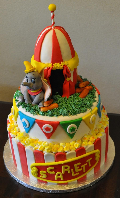 Dumbo Baby Shower Cake Cakecentral Com