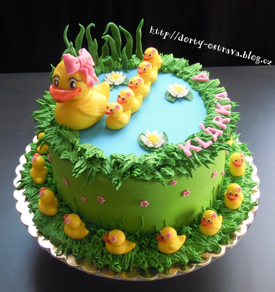 Duck Pond Cake Ideas