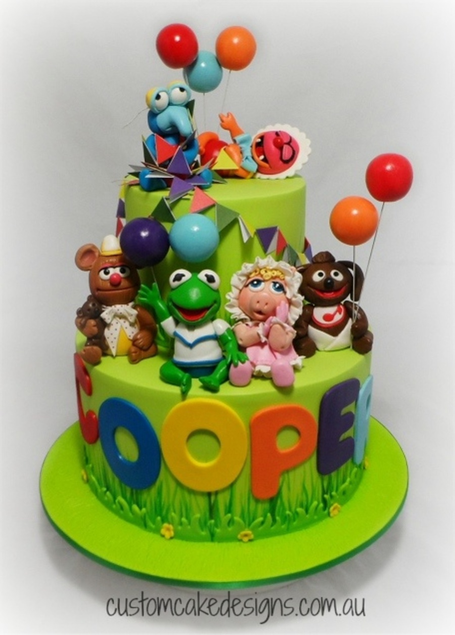 Baby Muppets 1st Birthday Cake Cakecentral Com