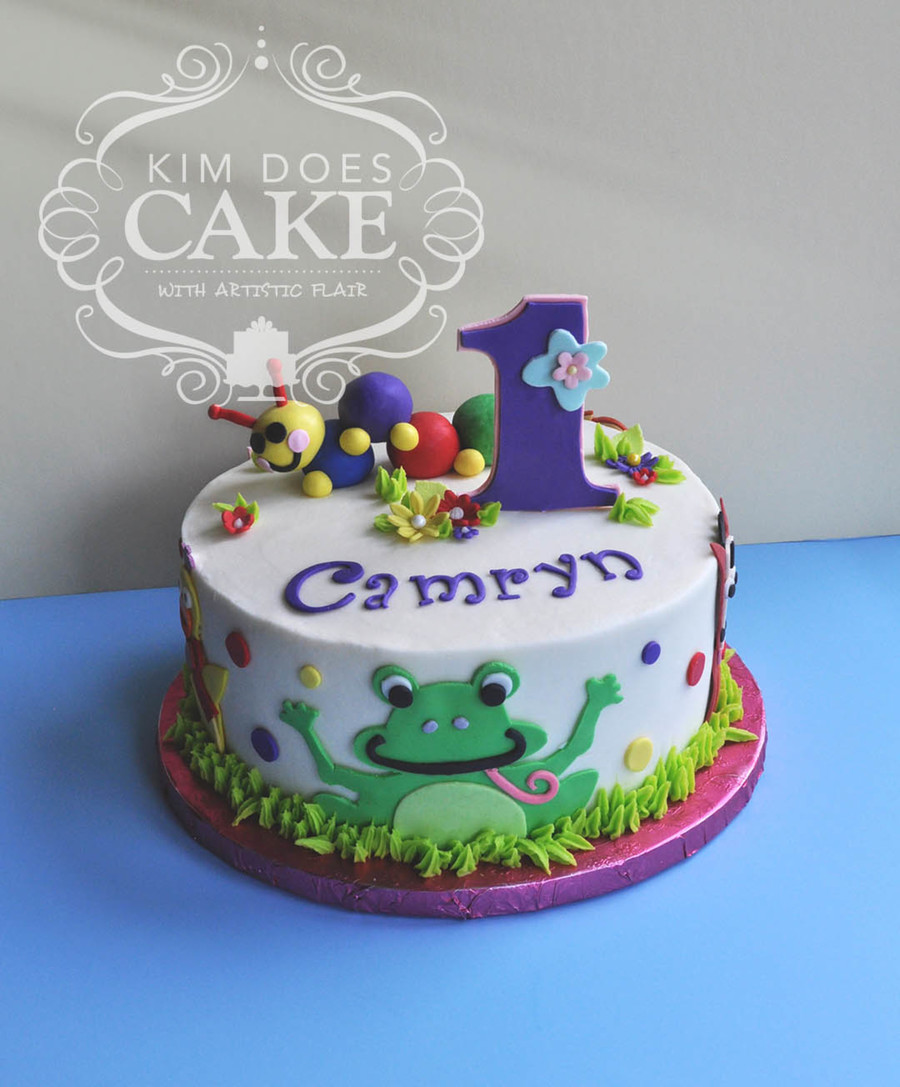 Baby einstein cake for Baby einstein decoration
