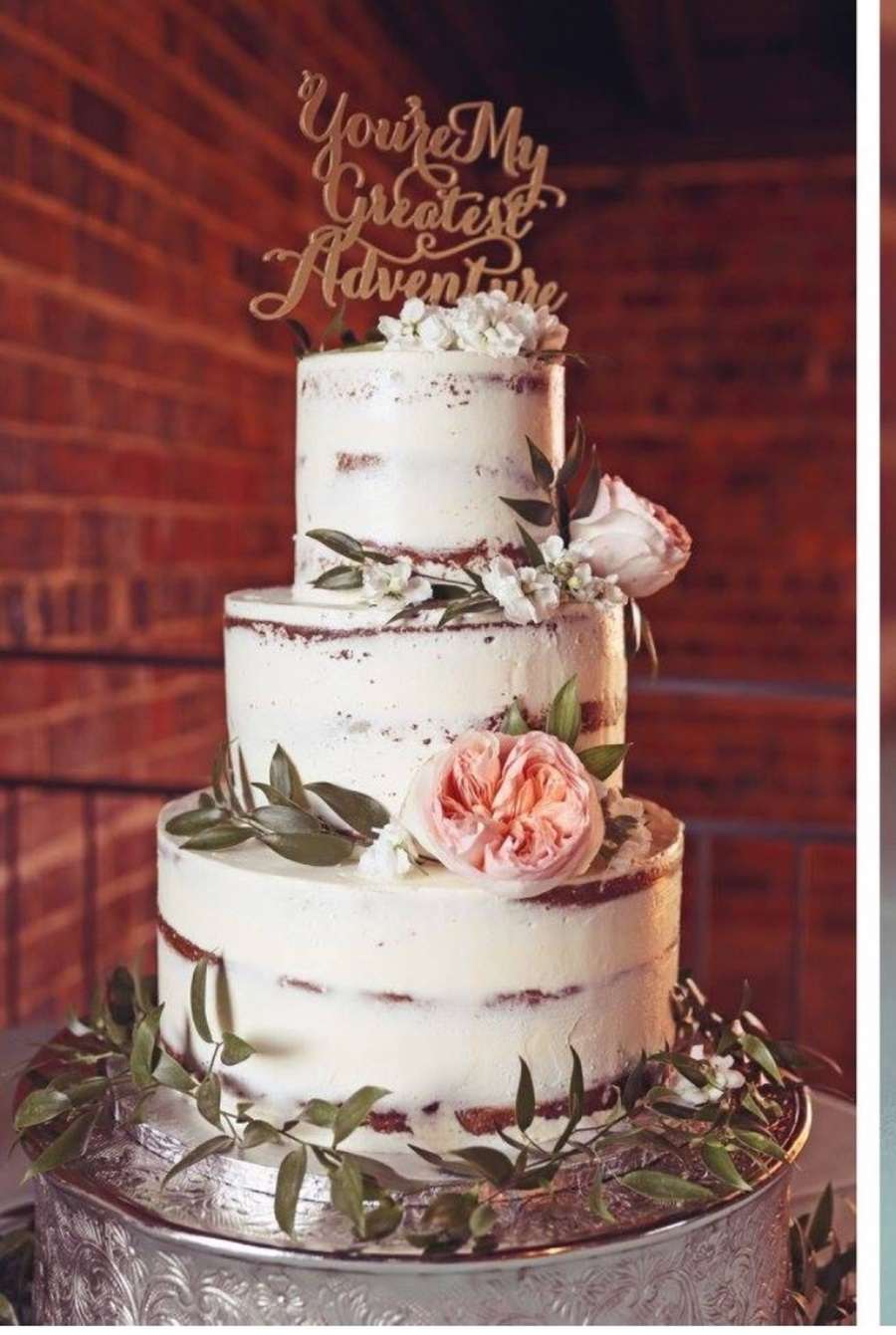 Naked Birch 3Tier Wedding Cake - Cakecentralcom-7620