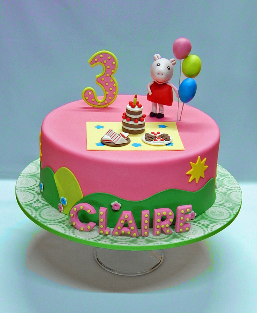 Cake Decorating Ideas Peppa Pig