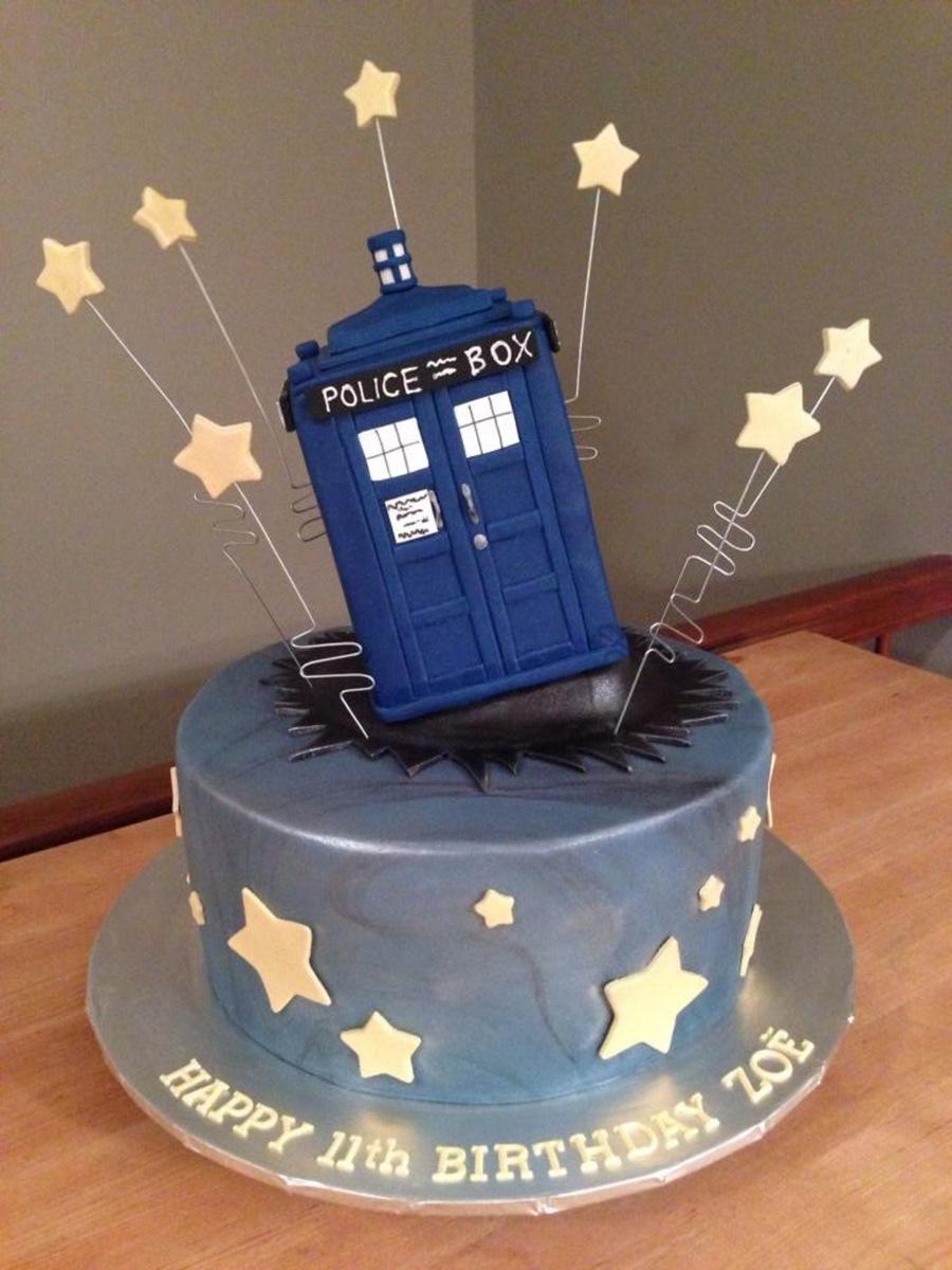 Dr Who Cake Cakecentral Com