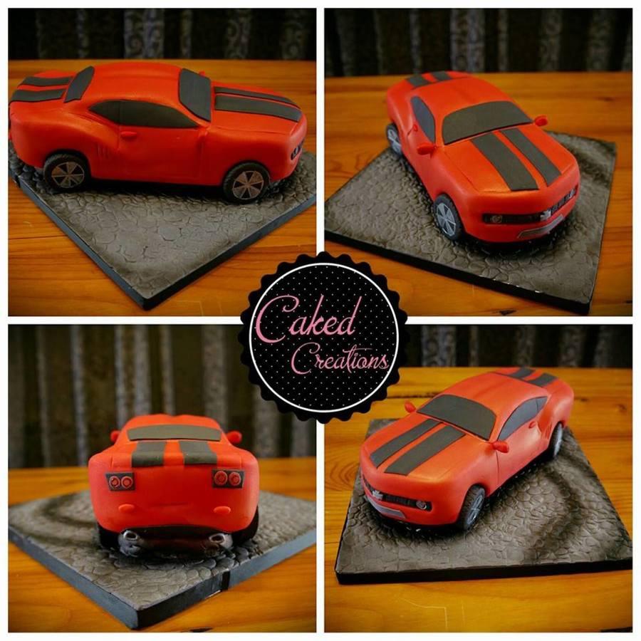 Camaro Car Cake Cakecentral Com