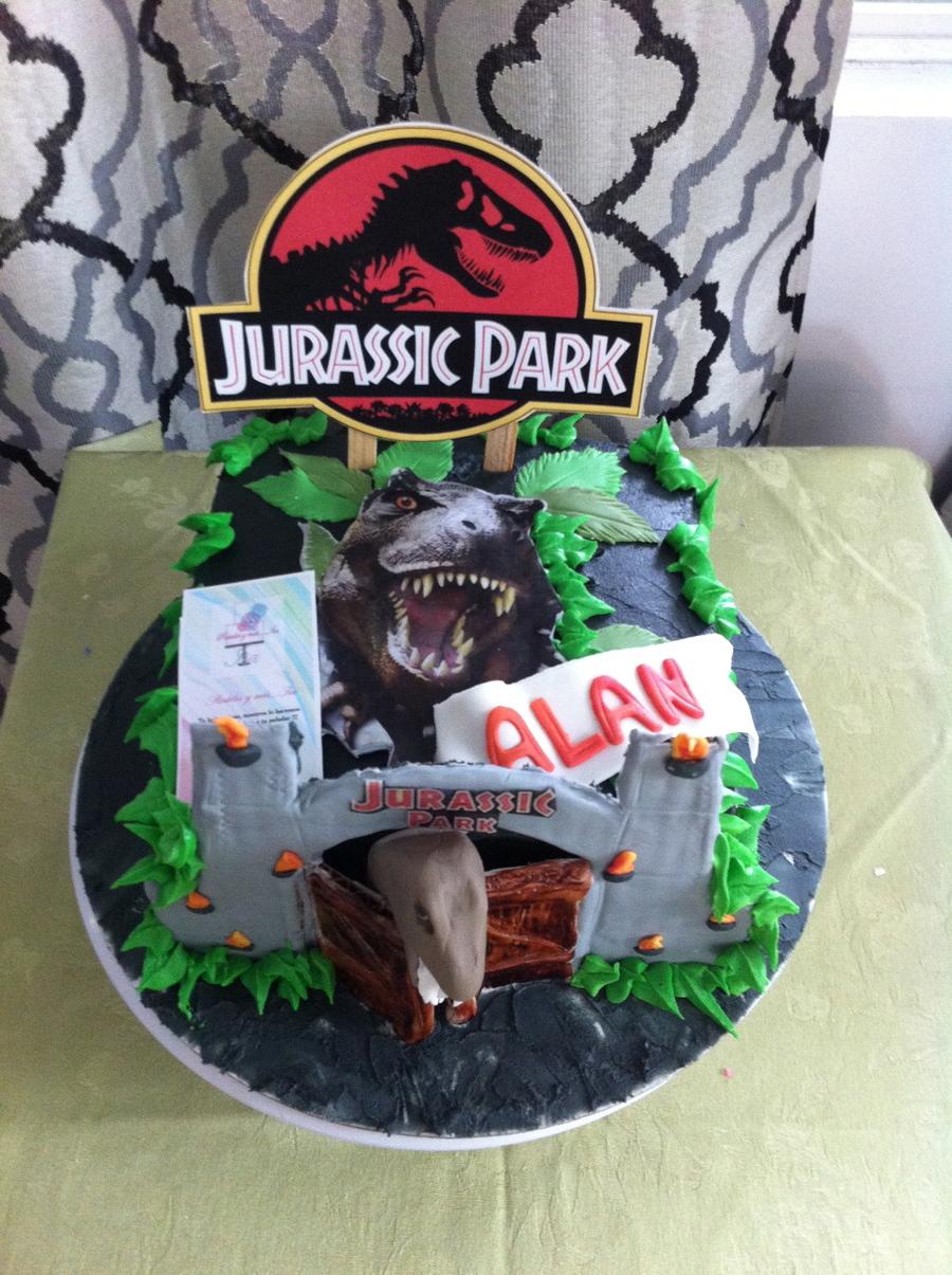 Jurassic World Movie Cake Cakecentral Com