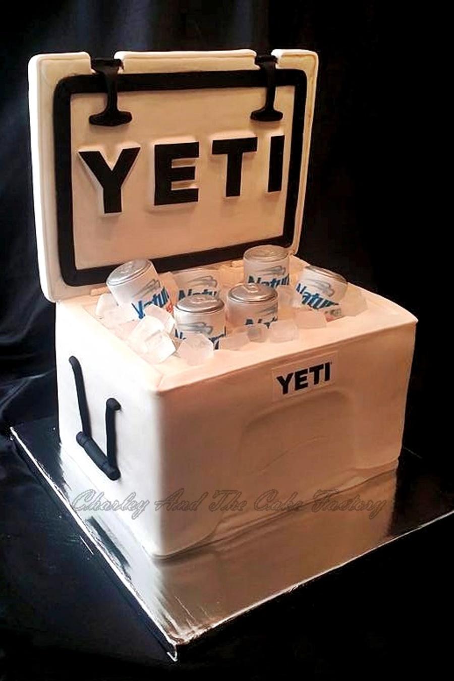 Yeti Cooler Cake Tutorial