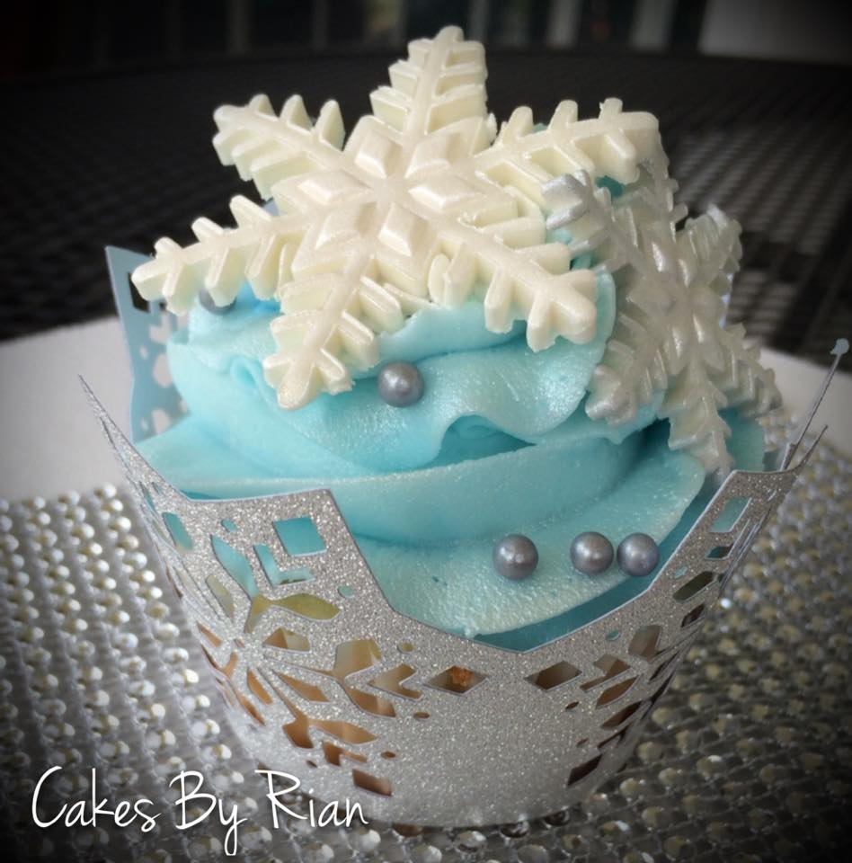 winter theme sweet 16 - cakecentral