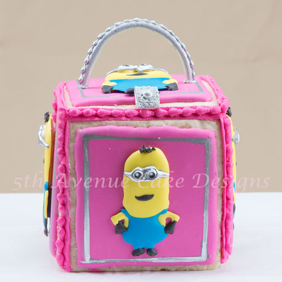 Back To School Minion Cookie Lunch Boxes on Cake Central