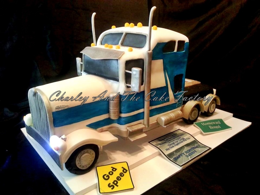 Big Rig Cake Eighteen Wheeler Cakecentral Com