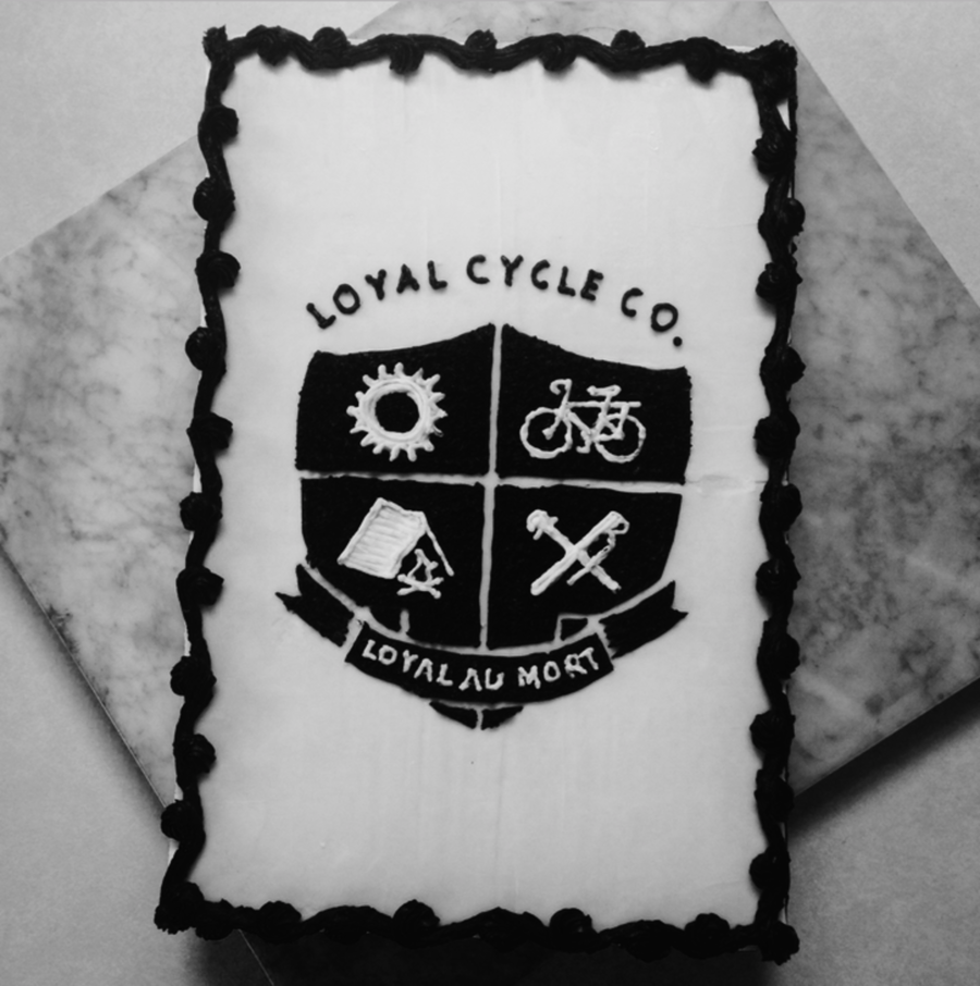 Loyal Cycling Sheet Cake on Cake Central