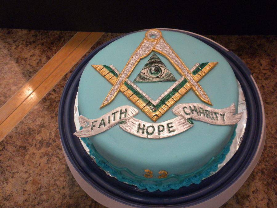 Freemason Masonic Cake Cakecentral Com