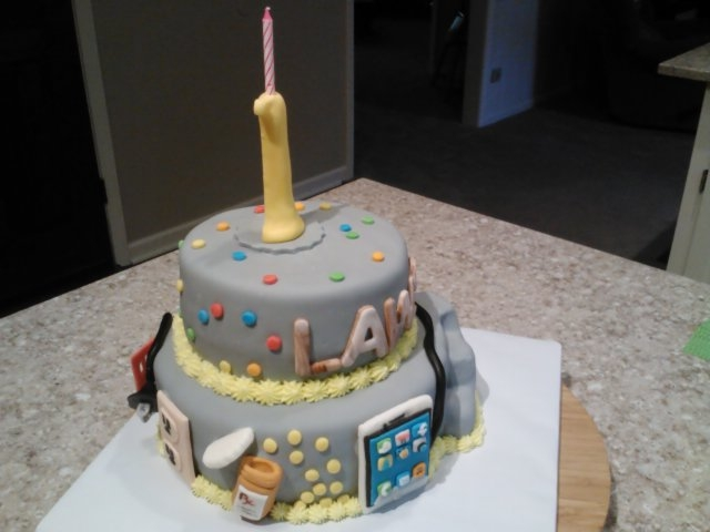 These Are A Few Of My Favorite Things Themed Birthday Cake - Favorite birthday cake