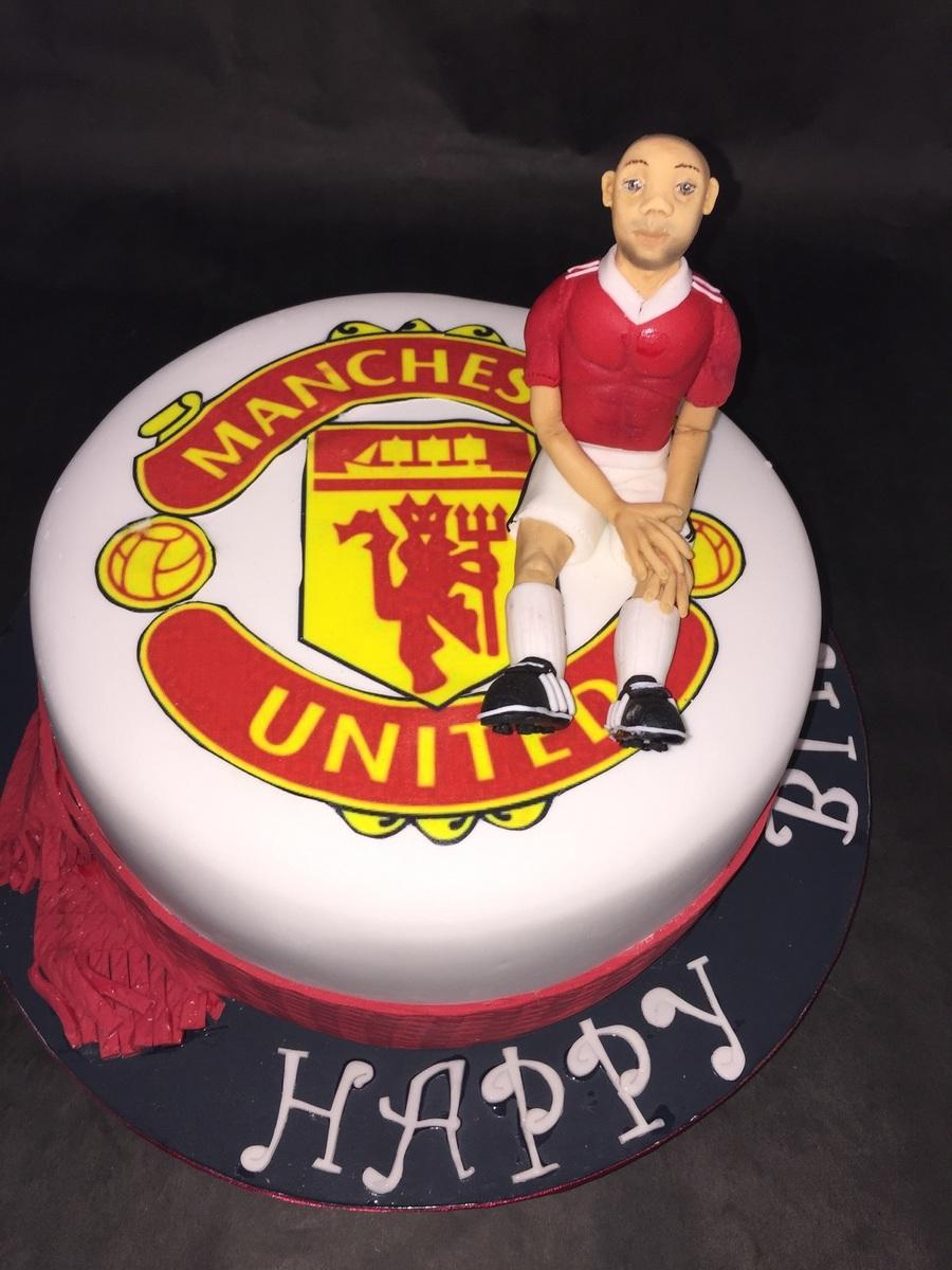 Man U Birthday Cake Cakecentral Com