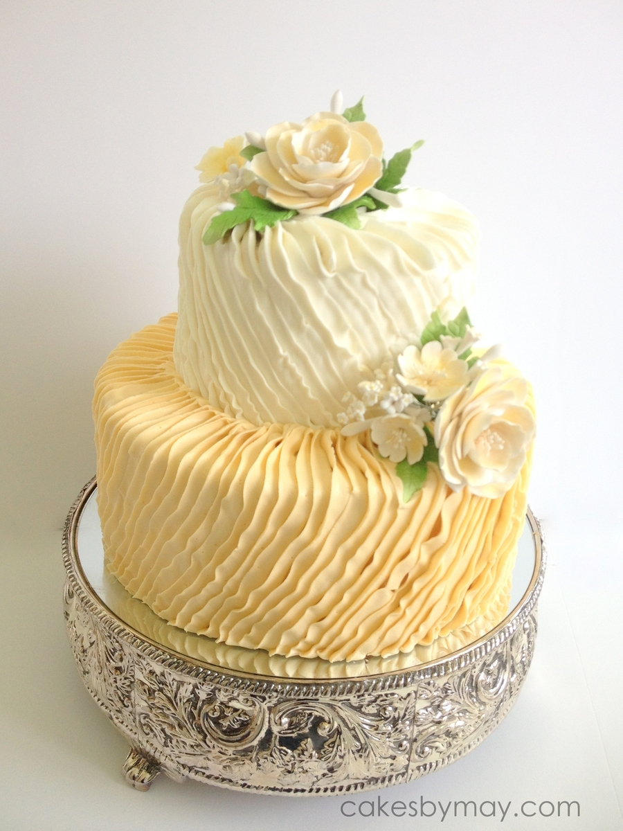 Buttercream Ruffles on Cake Central