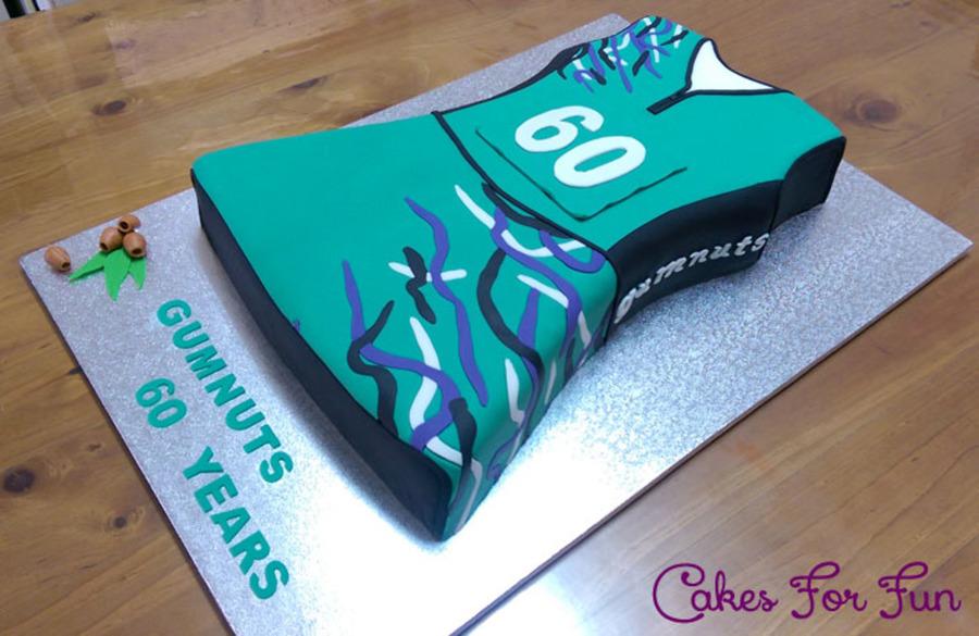 Netball Dress Cake Cakecentral Com