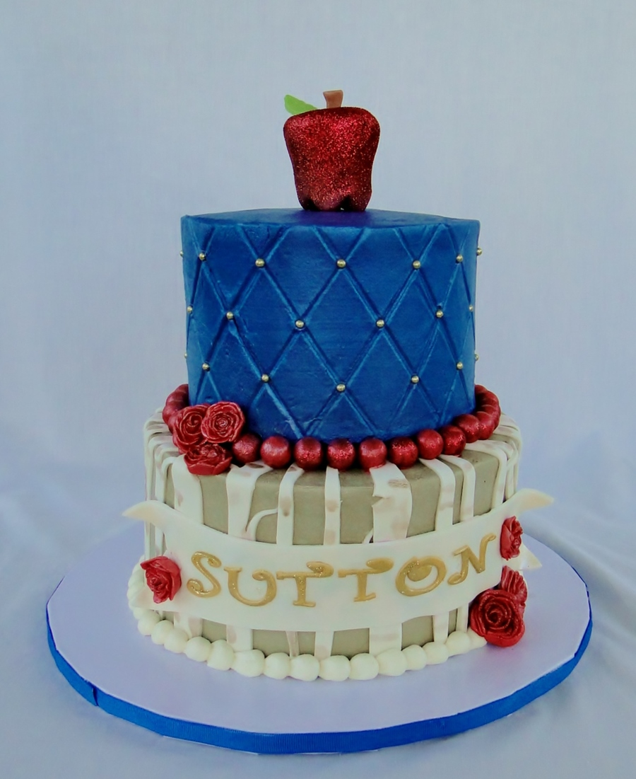 Snow White Themed Tiered Cake on Cake Central