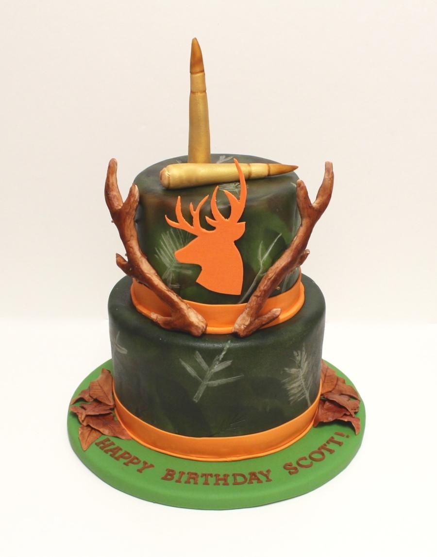 Hunting Birthday Cake Photos