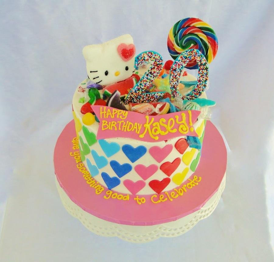 Awe Inspiring Katy Perry Birthday Cake Cakecentral Com Personalised Birthday Cards Veneteletsinfo