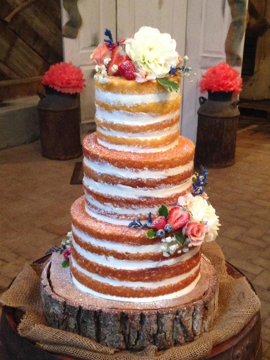 Red Velvet Naked Cake - CakeCentral.com