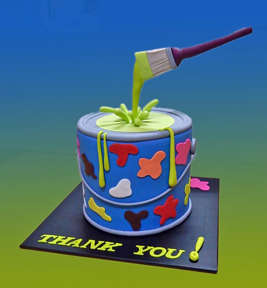 Cake Decorating Paint