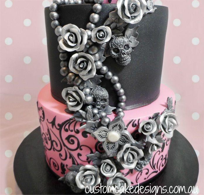 Sugar Skull 21St Cake CakeCentralcom