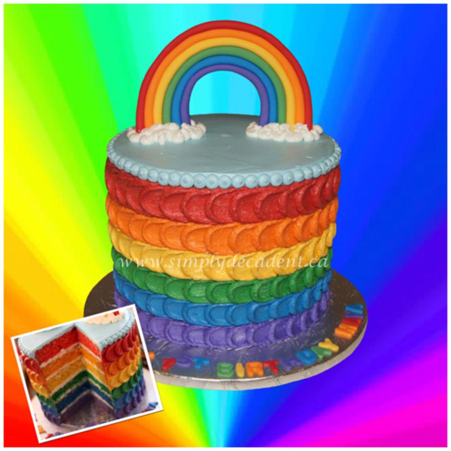 Multicolor Cake Icing