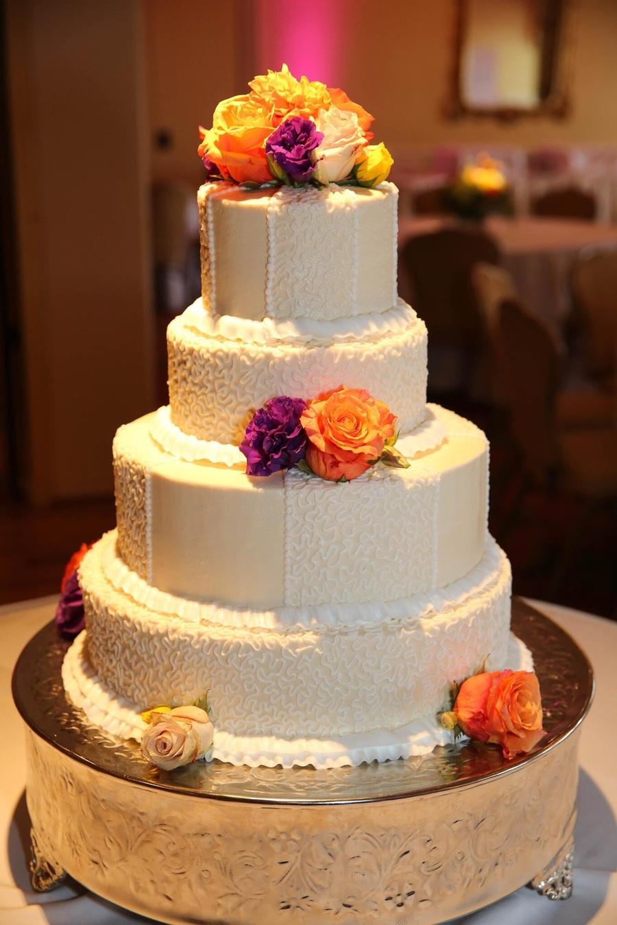 Cornelli Lace Wedding Cakecentral Com