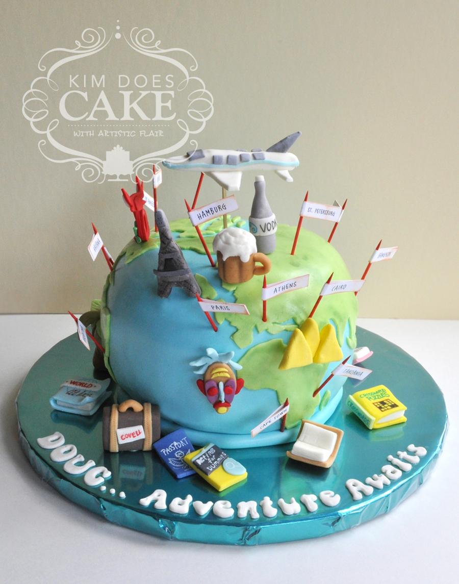 Retiement Party Cake