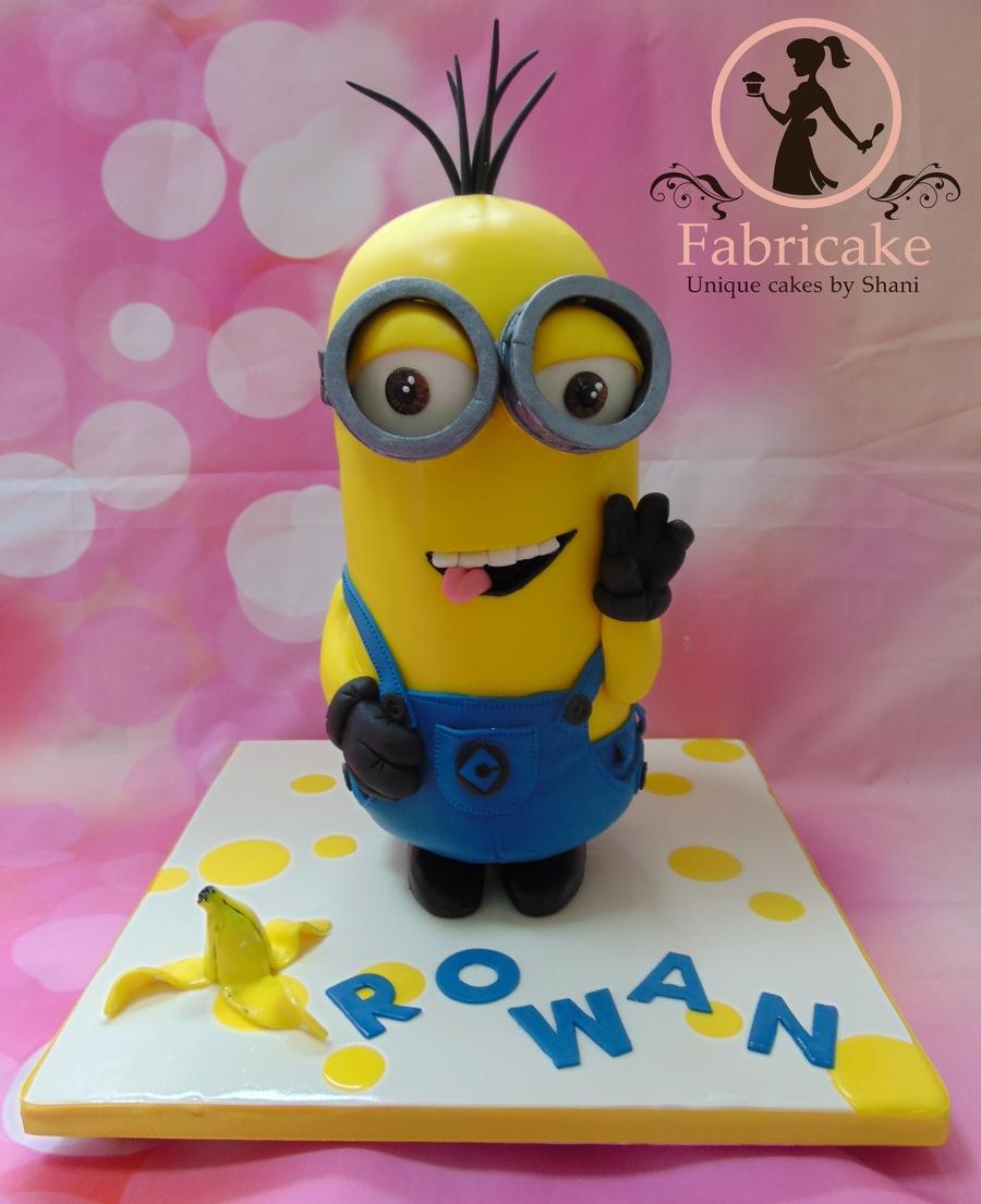 Minion Cake CakeCentralcom