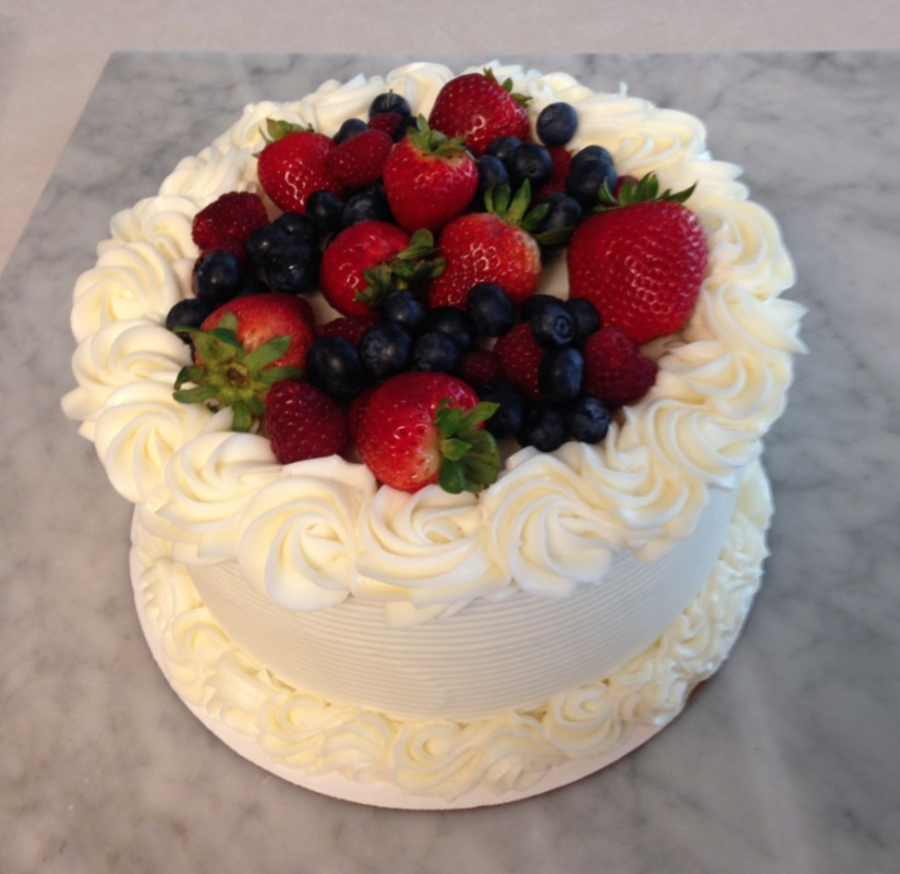 Berries And Cream on Cake Central
