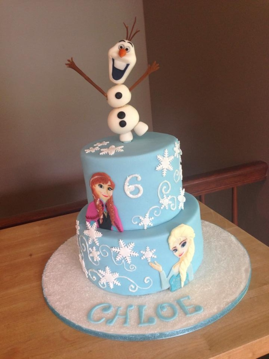 Frozen Cake Cakecentral Com
