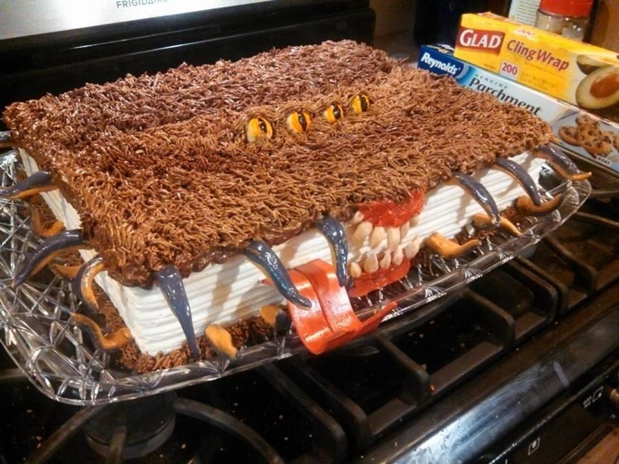 Monster Book Of Monsters Cake Recipe