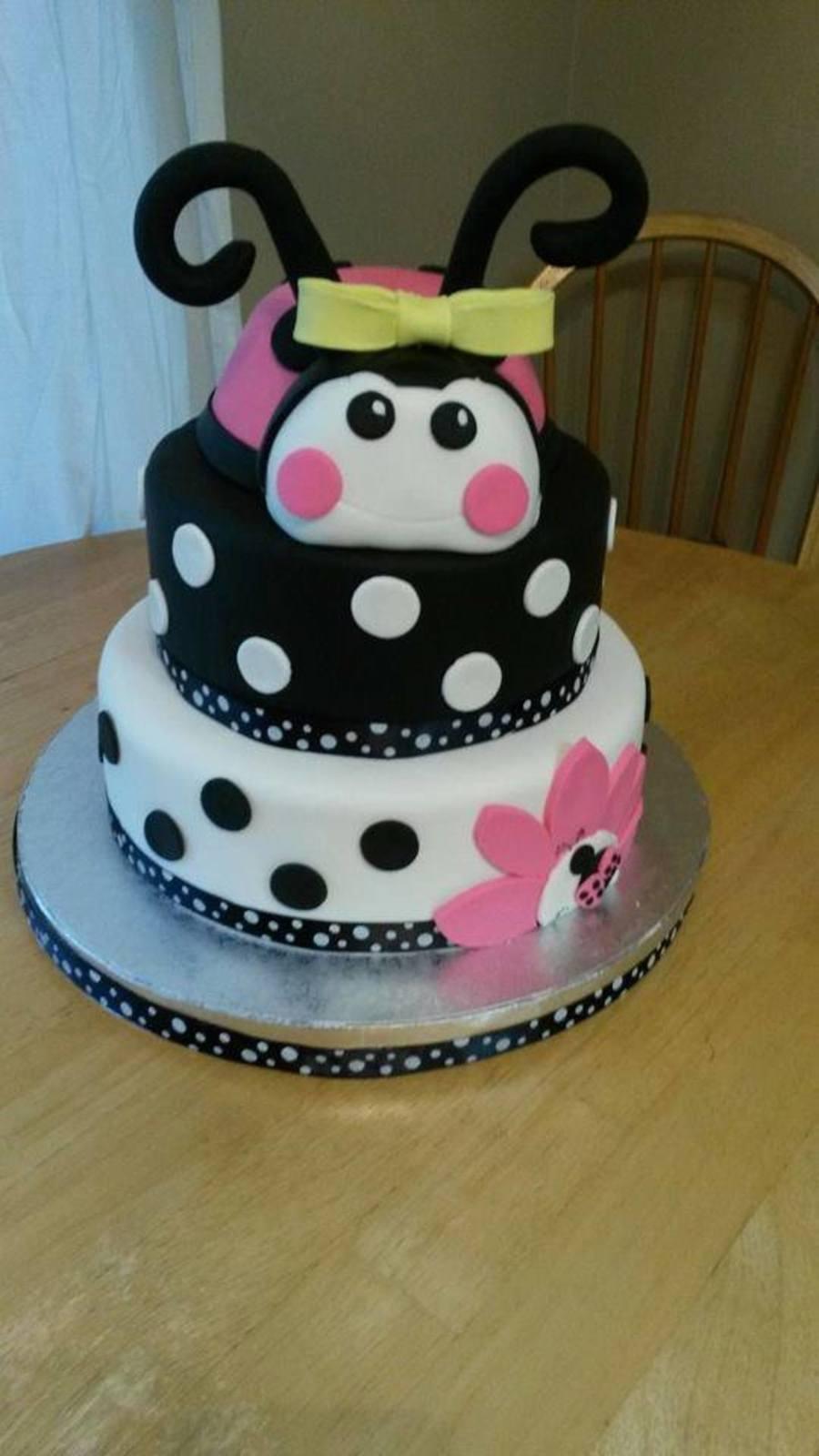 Ladybug Baby Shower Cake Cakecentral
