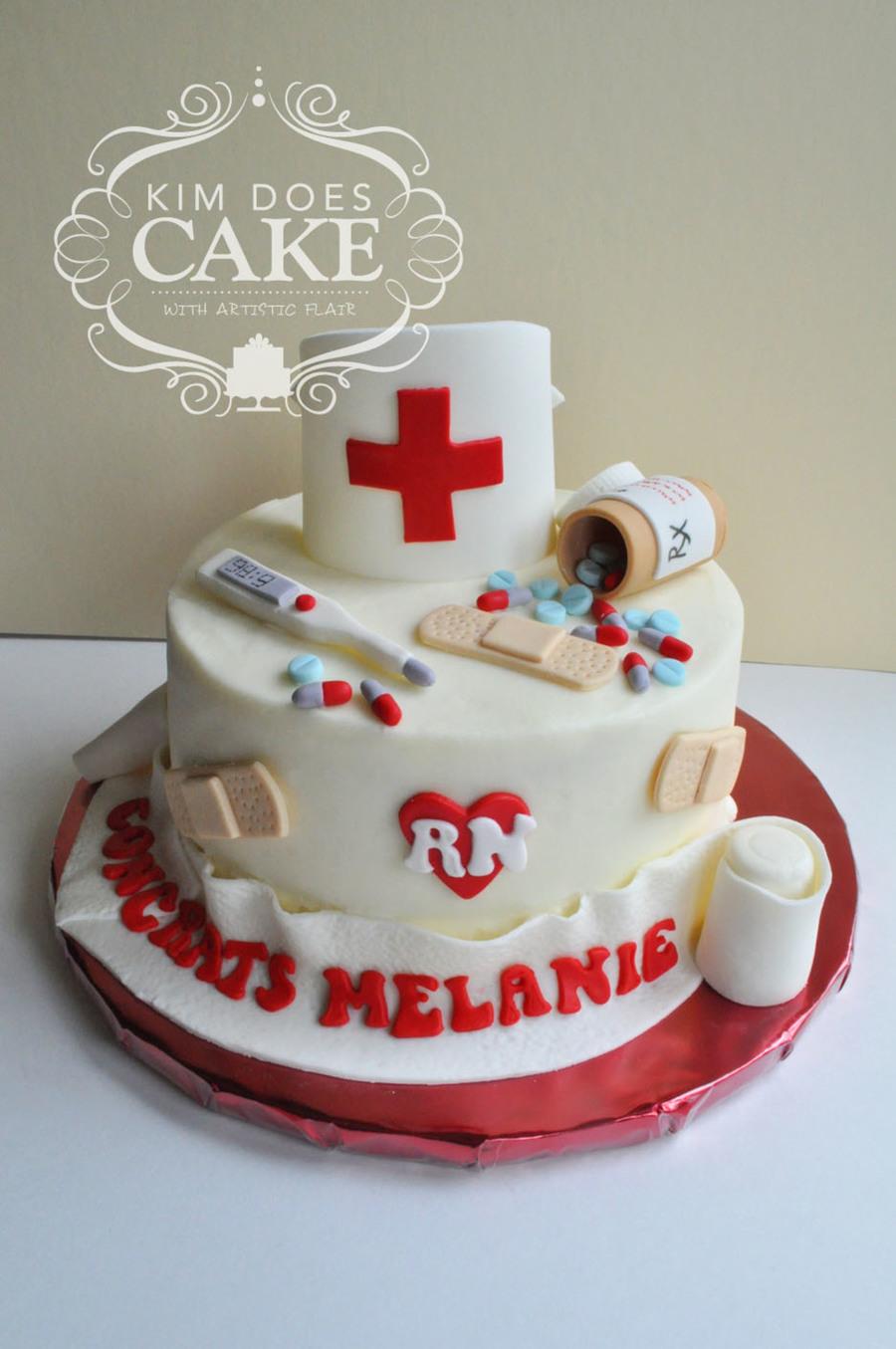 Nursing Graduation Cake Cakecentral Com