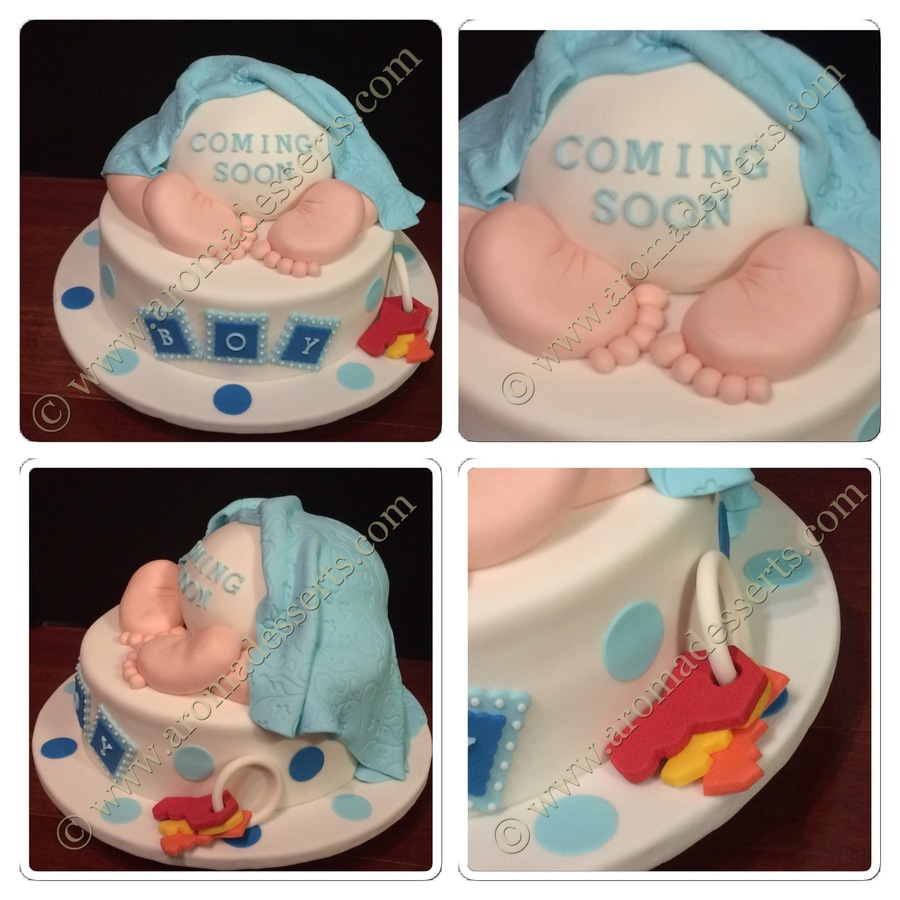 Baby Bum Cake Images : Baby Bum - Baby Shower Cake - CakeCentral.com