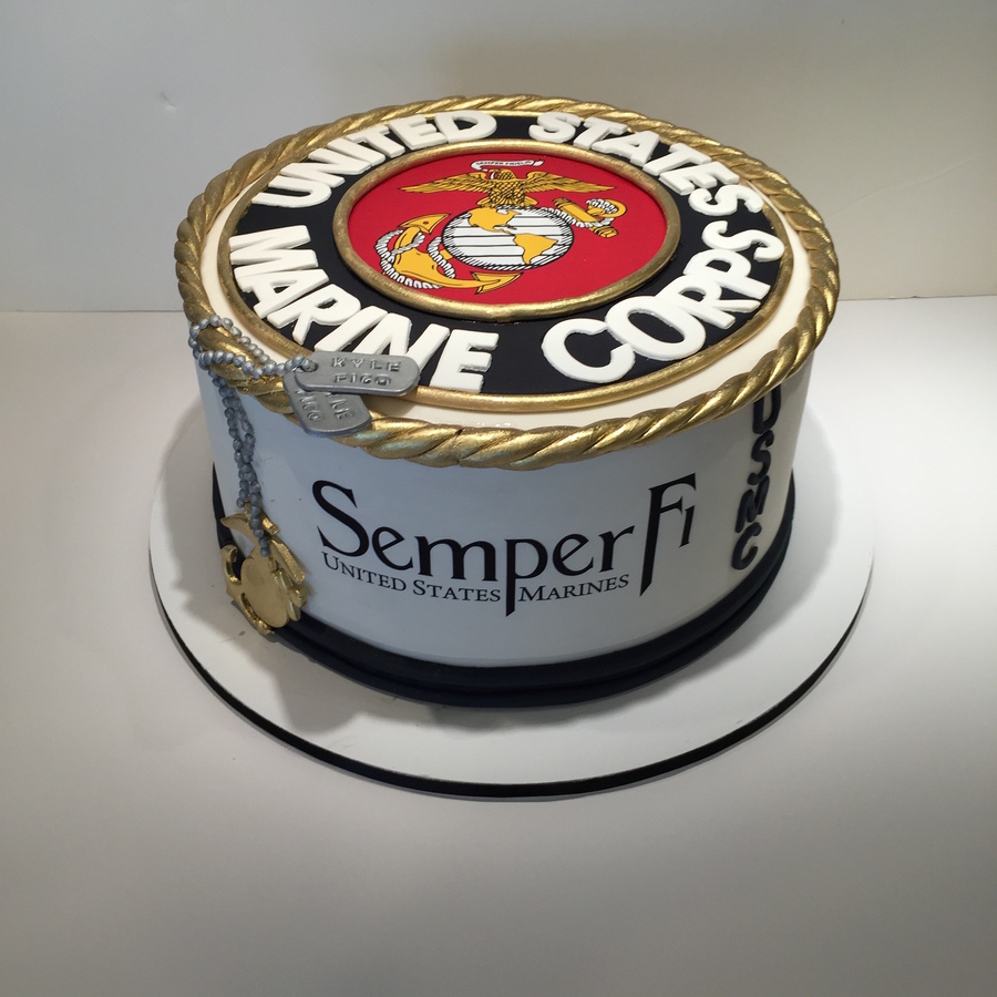 Images Of Marine Corps Cakes