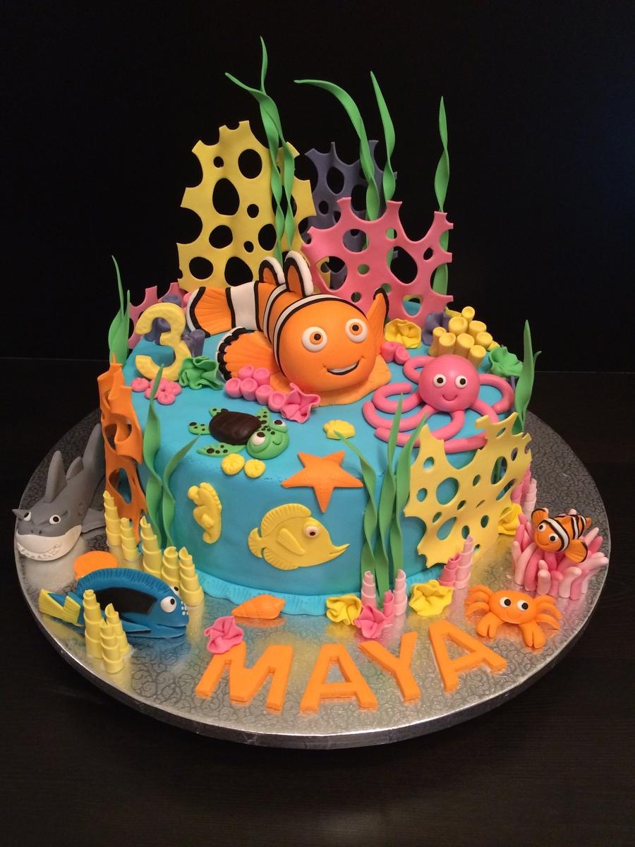 Children S Birthday Cake Designs