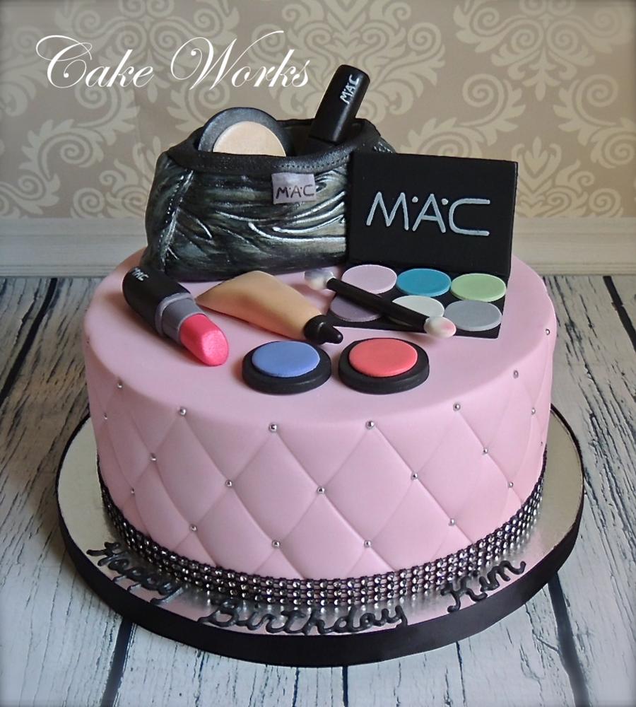 Mac Makeup Cake Cakecentral Com