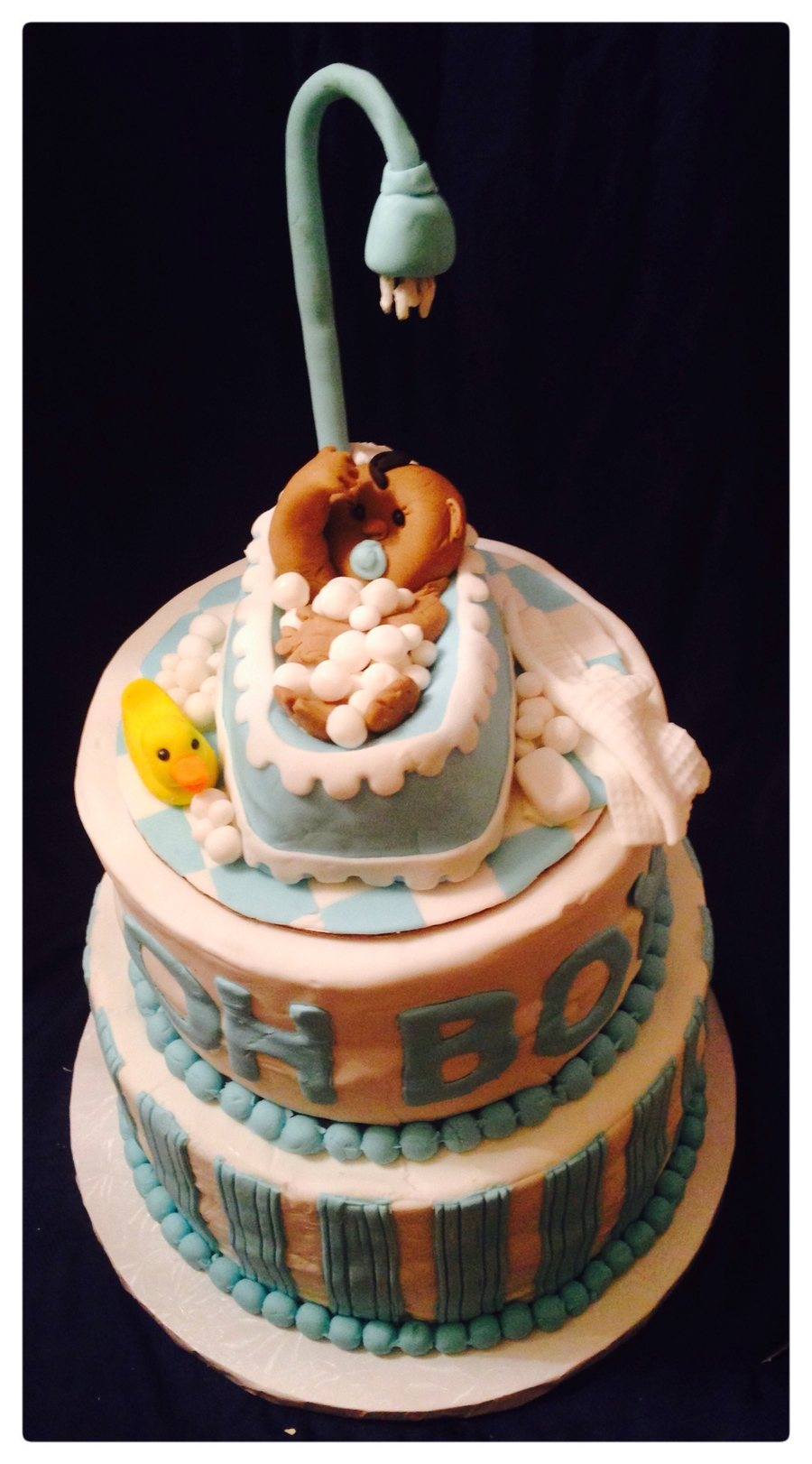 Baby In A Tub / Baby Shower Cake - CakeCentral.com