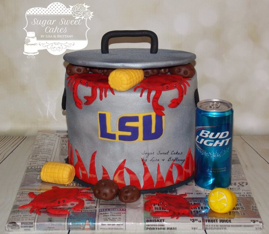 Lsu / Crab Boil on Cake Central