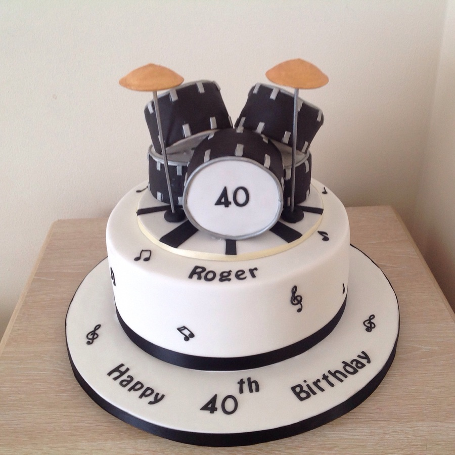 Excellent Drum Kit Cake Cakecentral Com Funny Birthday Cards Online Bapapcheapnameinfo