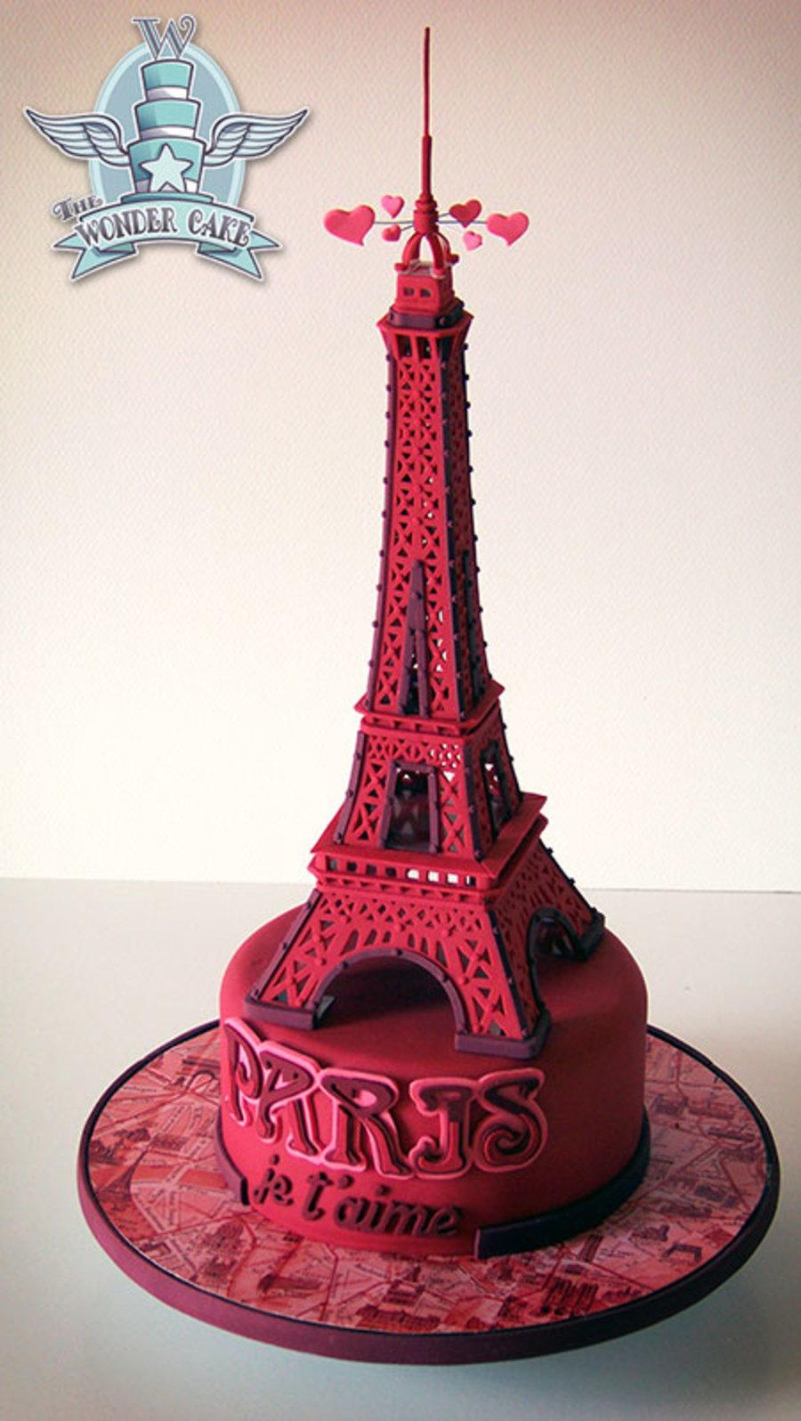 Paris Je T Aime Cakecentral Com