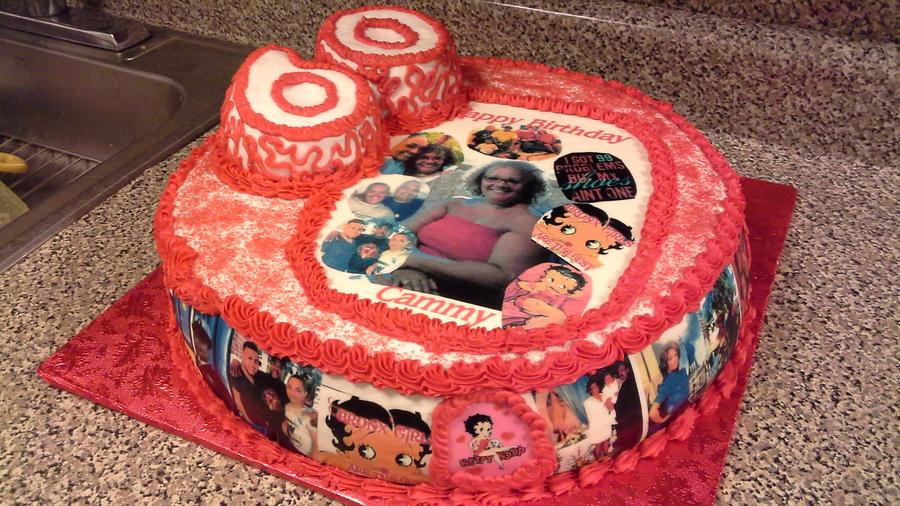 Fabulous Milestone Birthday Cake Cakecentral Com Personalised Birthday Cards Epsylily Jamesorg