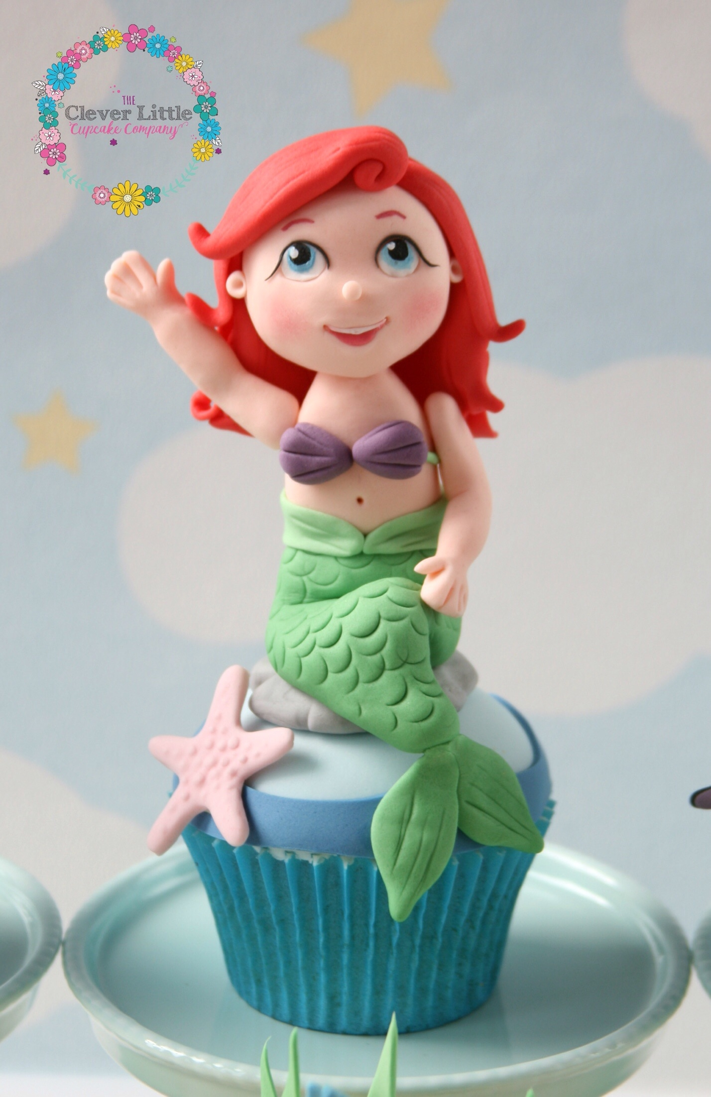 Little Mermaid Cupcakes Cakecentral Com