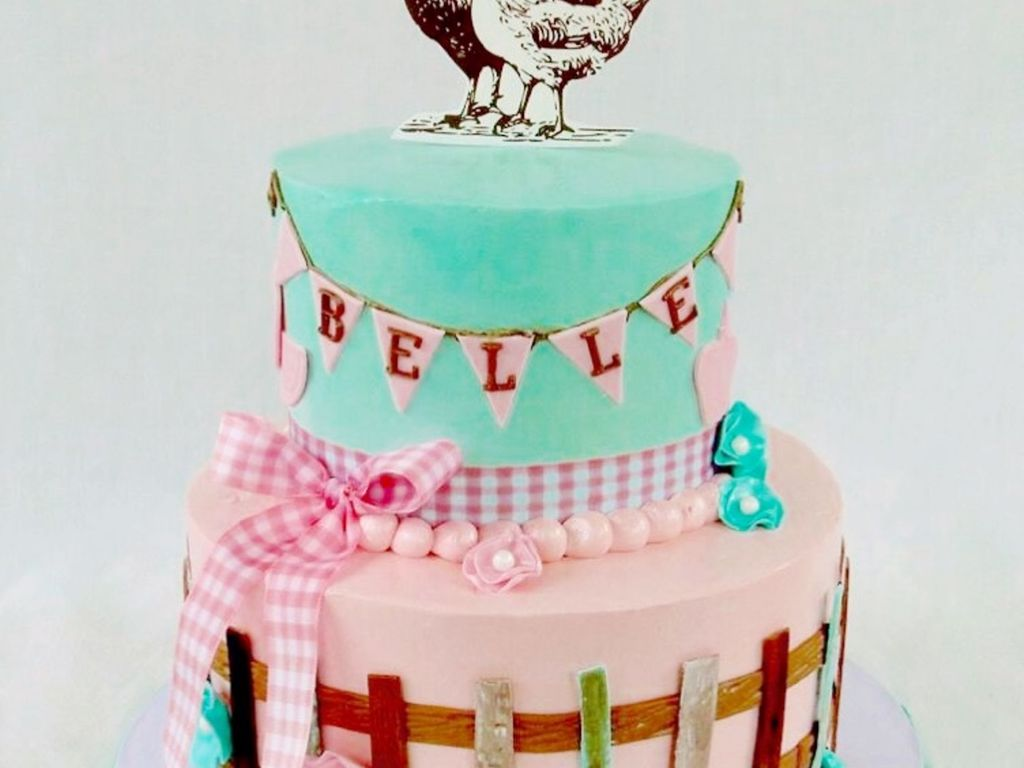Surprising Vintage Farm Fresh Birthday Cake Cakecentral Com Birthday Cards Printable Inklcafe Filternl
