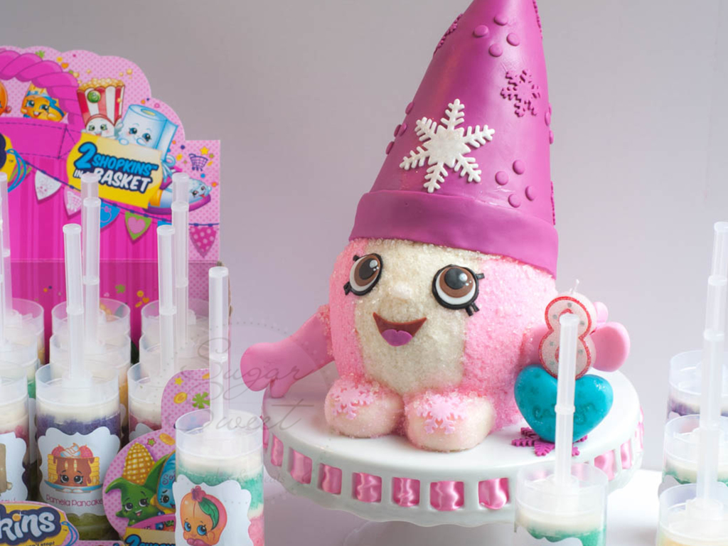 Snow Crush Shopkins Cake And Push Pops