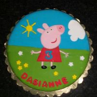 Children's Birthday   Peppa Pig Cake