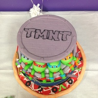 Tmnt Cake Teenage Mutant Ninja Turtle Cake