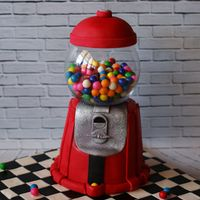 Gumball Machine Cake   A fun cake I donated to a children's charity. This was made following Shawna McGreevy's tutorial.