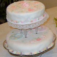 My First And My Last Cake In 5 Years These are the pictures of 2 cakes. Mi first cake I made 6 years ago, for my daughter in law´s baby shower and the last one at the...